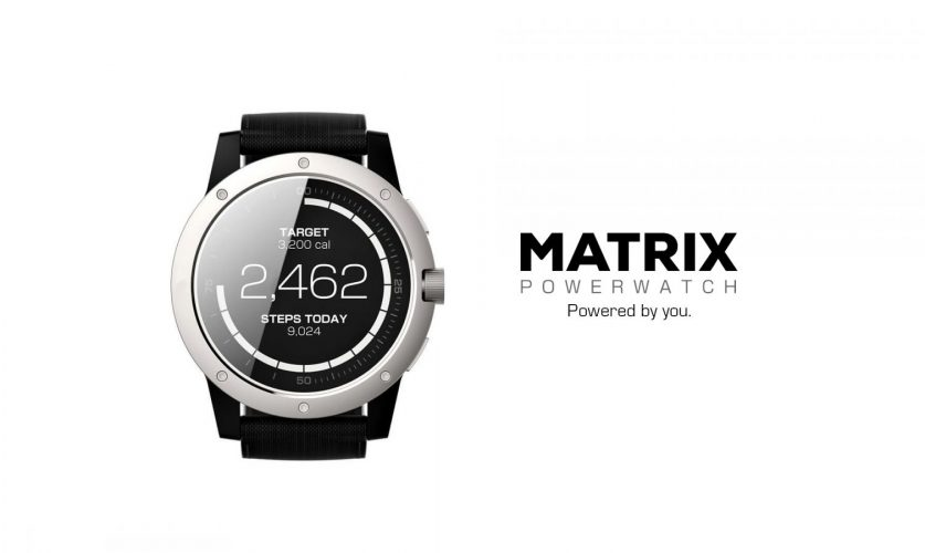 Smartwatch which never needs to be loaded matrix powerwatch cubot blog for Matrix powerwatch