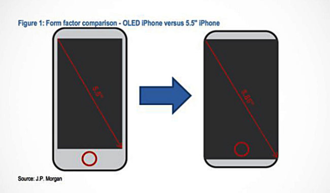 iPhone 8 Display ohne Ränder Bild 9to5Mac