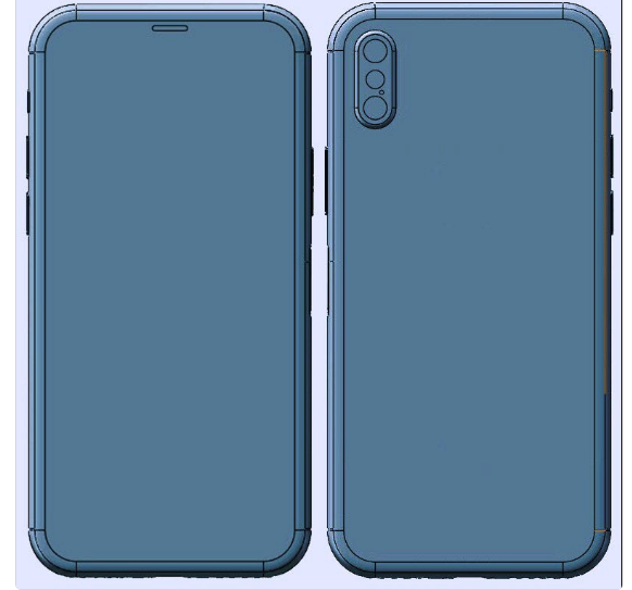 iPhone 8 image OnLeaks on Twitter
