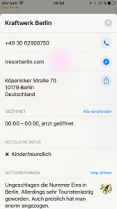 Apple Karten auf dem iPhone 7 | (c) Areamobile