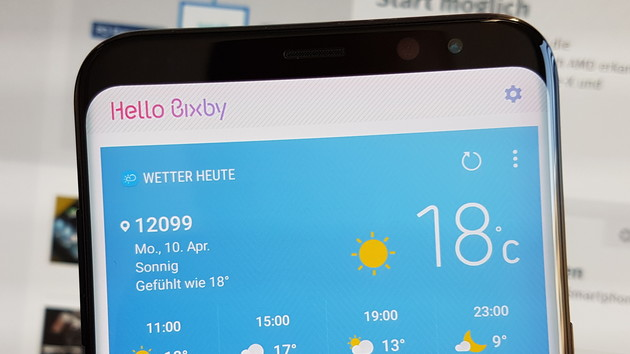 Samsung Bixby: Assistant finished fourth quarter for Germany