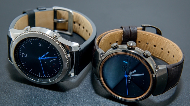 Round Smartwatches tested: Asus ZenWatch 3 and Samsung ...