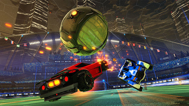 Test Rocket League at the weekend free of charge: Action