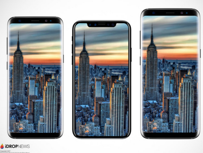 Galaxy S8 compared to the iPhone 8 iDropNews