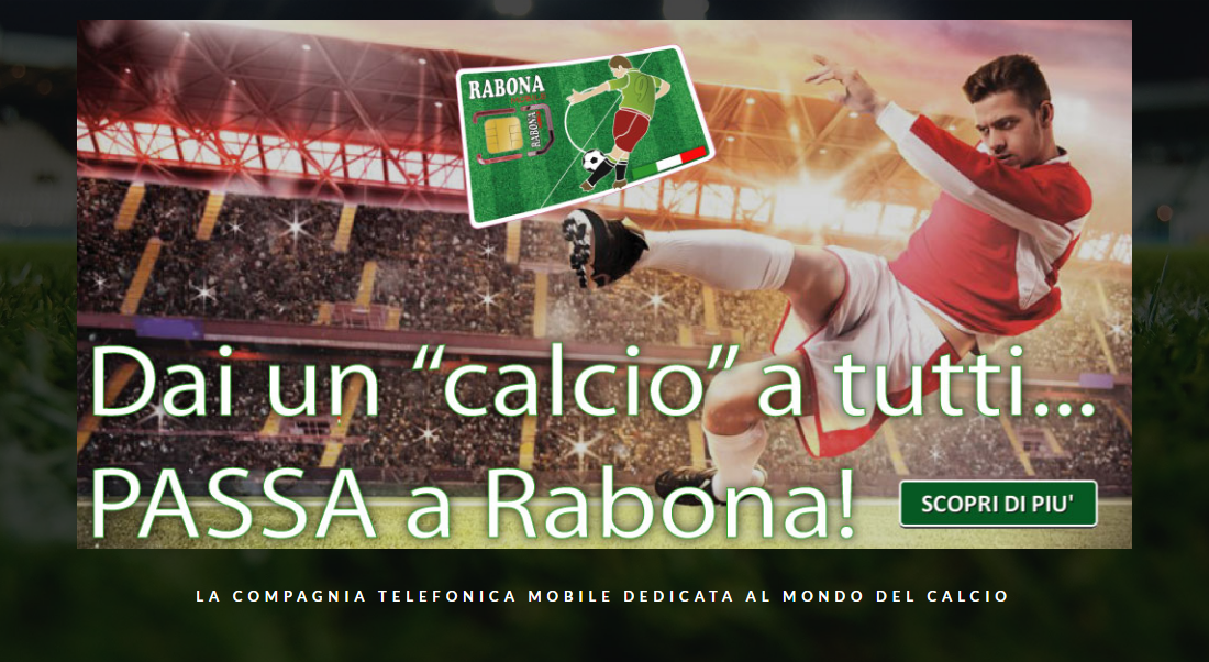 Rabona Mobile offers the offer 5-5-5: 500 minutes, 50 SMS and 5 GB to 10 euros per month