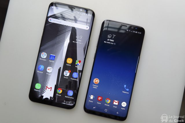 The Galaxy S8 runs twice as fast as the S7 and obviously creates the fad
