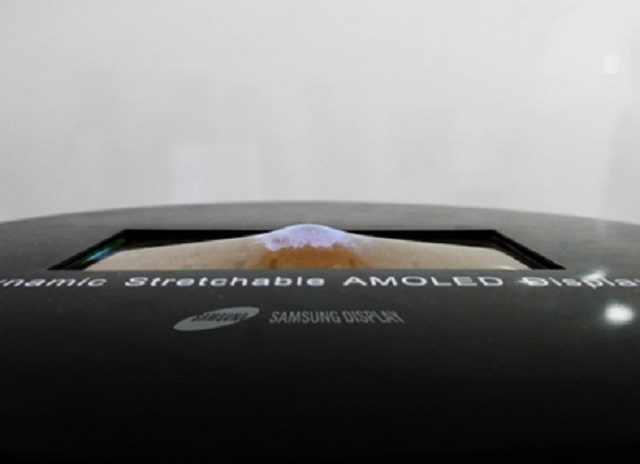 Samsung is about to unveil a stretchable OLED display