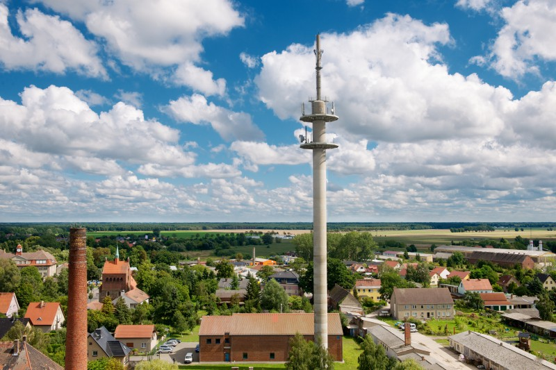 Telekom wants to sell its own radio tower