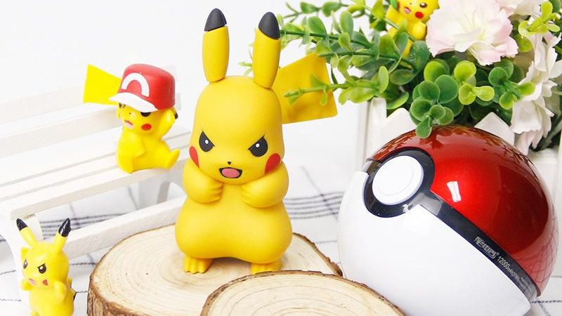 Reload the smartphone in the original way with Pikachu