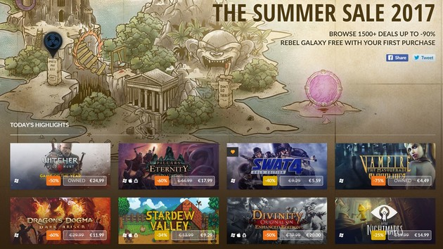 GOG.com: discounts and new games for Connect im Summer Sale