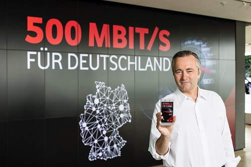 Vodafone: 500 Mbit/s already available in 10 cities