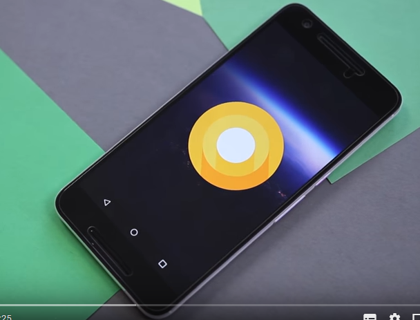 Android O Video YouTube