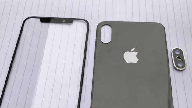 iPhone 8: photos show the front and back
