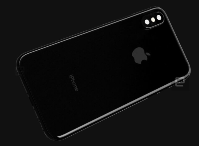 Alleged iPhone 8 back image Engadget