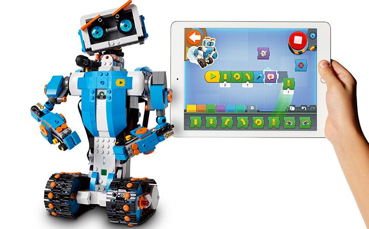 LEGO launches LEGO Boost, bricks to teach young people to code ...
