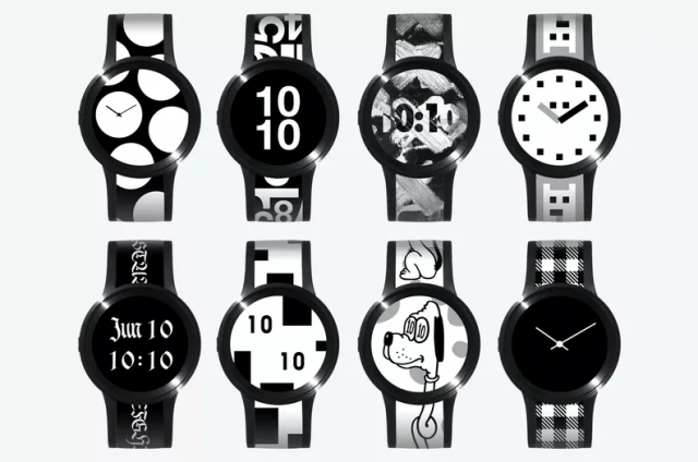 Sony FES Watch U: a new model of E Ink watch more ...