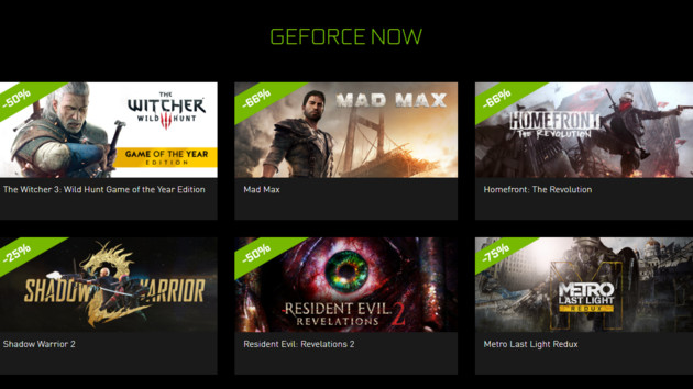 "Nvidia Shield: Seven GeForce-Now games in the ""Summer Game Sale"