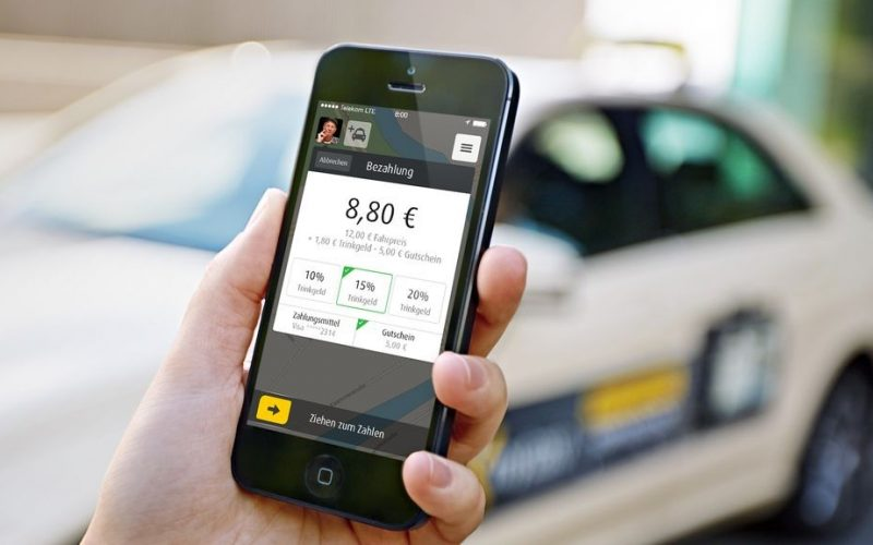 myTaxi detects Clever Taxi, the taxi app leaders in Romania