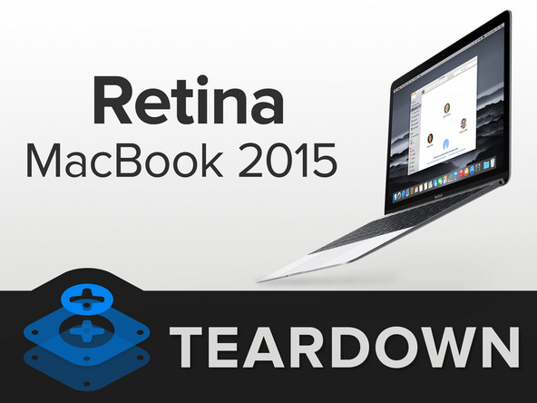 Cover image of the iFixit teardown of the new MacBook
