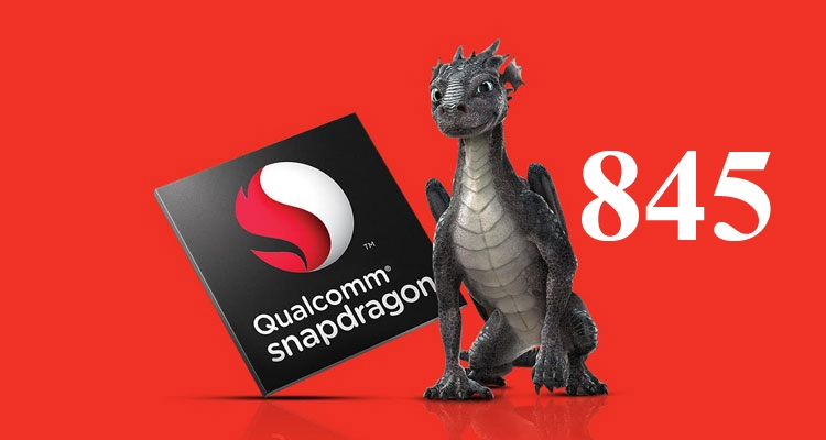 Snapdragon 845 Processor is credited with the presence of