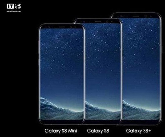Galaxy S8 and Galaxy S8 Mini Comparison Image IT Home