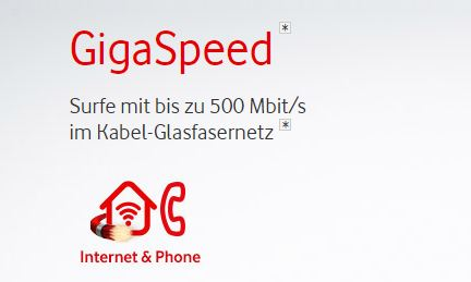 vodafone red internet & phone 50 cable