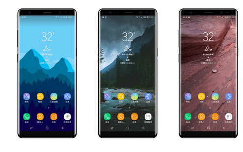 Alleged Galaxy Note 8 image IceUniverse on Twitter