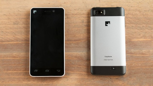 Fairphone 1: Missing parts lead to support end