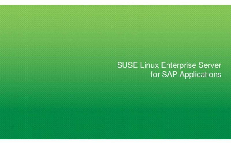 SUSE Linux Enterprise Server for SAP Applications ora disponibile su Google Cloud Platform