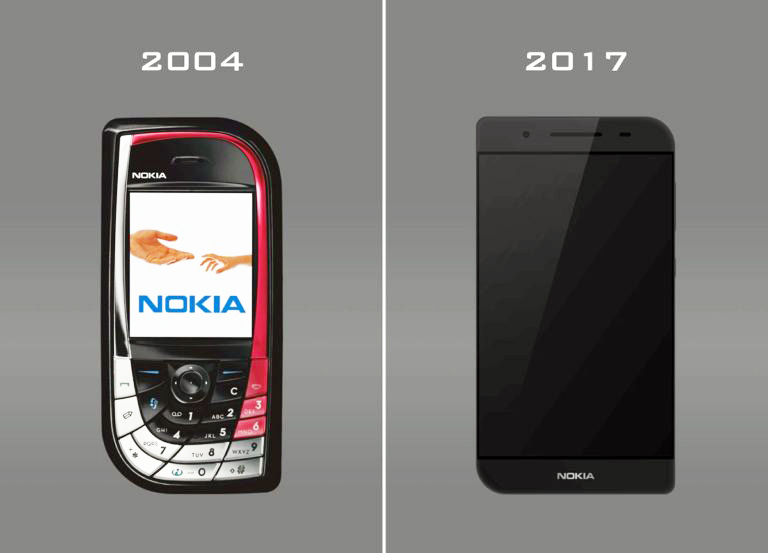 Nokia 7610 Remake: designer fancy with trimmed wings