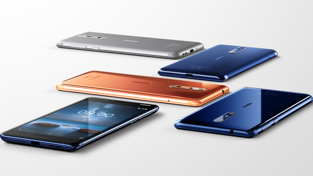 Nokia 8: Snapdragon 835, dual camera from Zeiss and 5.3 inches