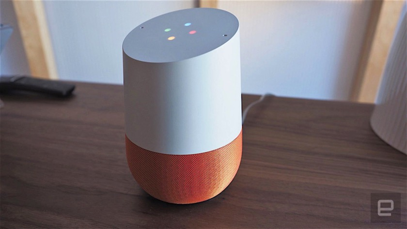 Google Home with immediate Spotify integration