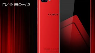 Cubot Rainbow 2 - The first dual-lens cameras phone of Cubot