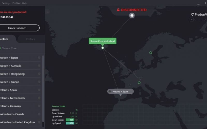 ProtonMail launches its free VPN