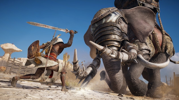 Assassin's Creed Origins: Reboot with identical system requirements